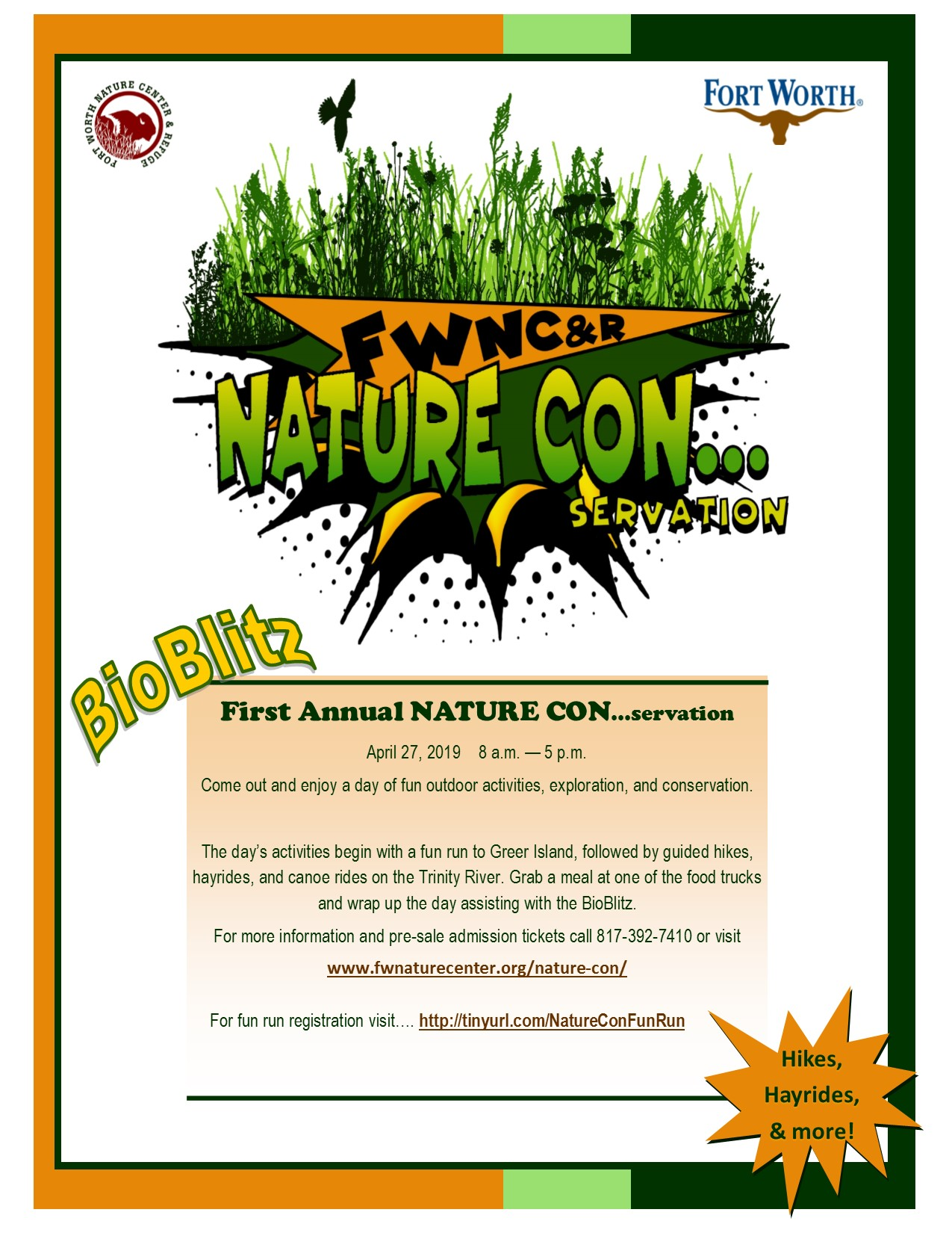 Nature Con Flyer Full Page